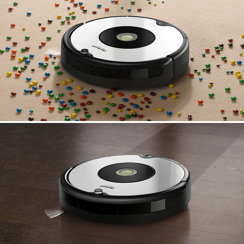 Aspirateur iRobot Roomba 605 voir sur Amazon
