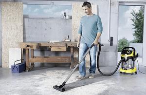 Test aspirateur eau et poussière karcher wd6 p premium